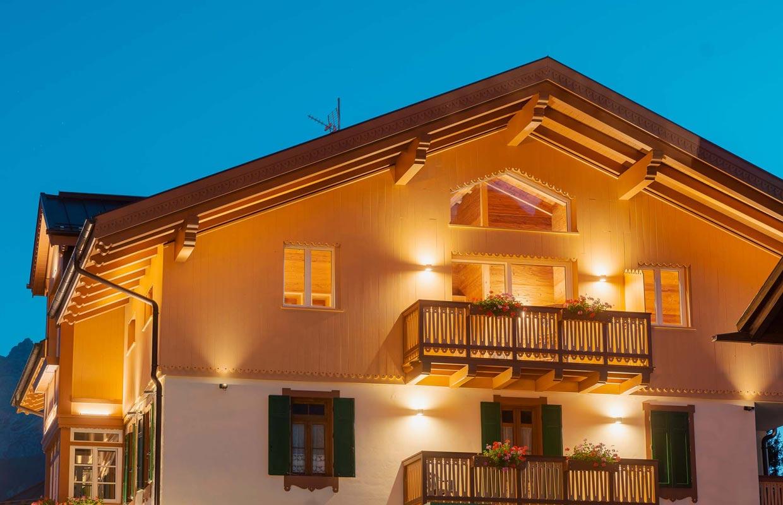 Esterno Junior Suite Comfort Hotel Villa Alpina